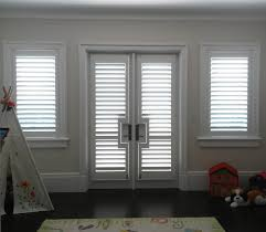 ford window treatments single panel custom paint wood shutters