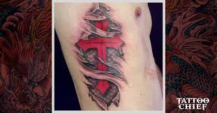 cross half sleeve tattoos for men ideas u0026 designs tattoo chief