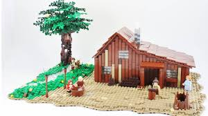 Little House On The Prairie by Little House In Legoland Sdpb