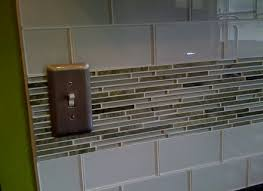 How To Install Glass Subway Tile Backsplash Installing Glass - Backsplash trim ideas