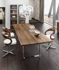 table de cuisine en bois massif table salle à manger moderne 30 idées originales plateau en