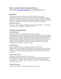 Resume Examples For Designers by Nice Graphic Designer Resume Sample With Education And