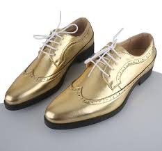 wedding shoes for men new gold color men s wedding shoes mens breathable leather shoes