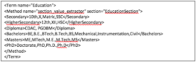Resume Mining Text Mining 101 Mining Information From A Resume