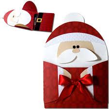 jmrush designs santa hug gift card holder