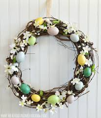 faux easter eggs 50 and easter wreaths with fresh designs