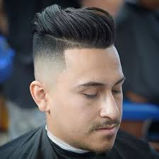hair under cut with tapered side best taper fade haircuts for men