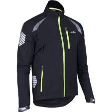 hi vis winter cycling jacket wiggle dhb flashlight highline waterproof jacket cycling