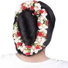 flower for hair majik artificial hair gajra veni hair flowers for