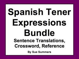 spanish tener expressions with ir a infinitive sentence