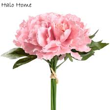 The Pink Peonies by Popular Silk Pink Peonies Buy Cheap Silk Pink Peonies Lots From