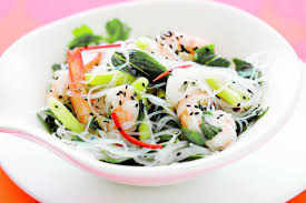 Noodle Salad Recipes Vietnamese Prawn And Glass Noodle Salad Recipes Delicious Com Au
