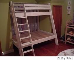 Free Plans For Twin Over Full Bunk Bed by 70 Best Bunk Bed Plans Images On Pinterest Bunk Bed Plans 3 4