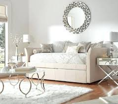 bedroom alluring full size daybed with trundle white dt 103w