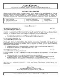 sales manager resume manager resume sle