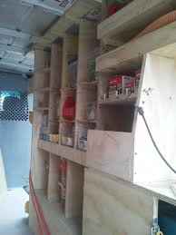 Cargo Van Shelves by Dodge Sprinter Van Shelfs Wood Shelving Storage Sprinter Forum