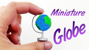 How To Make Dollhouse Furniture From Recycled Materials Diy Miniature Globe Easy Doll Crafts Simplekidscrafts