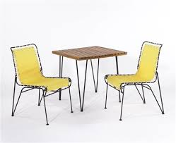 2 Armchairs Dining Table And 2 Armchairs 3 Works By Pipsan Saarinen Swanson On