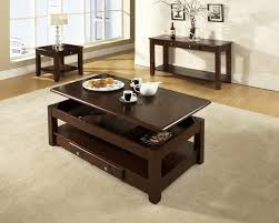 the coffee table height and size which affects much to the look of