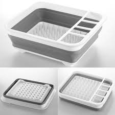 Kitchen Sink Racks Urijk 1pc Storage Drain Rack Plastic Dish Bowl Storage Holder