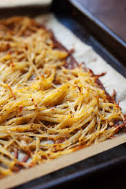 How To Cook A Sweet Potato In The Toaster Oven Sheet Pan Hash Browns Super Crispy Macheesmo