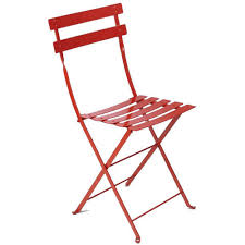 Metal Folding Bistro Chairs Fermob Metal Bistro Folding Chair Each American Country