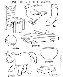 for kids color by number coloring page for kids 004