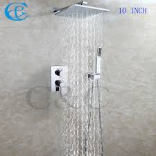 shower head leaking best shower c c bathroom shower faucet set 10 inch wall mounted brass chrome rain shower heads with embedded