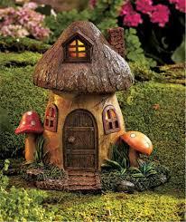 Mushroom Home Decor by Solar Lighted Fairy Gnome Home Garden Statue Yard Sculpture Decor