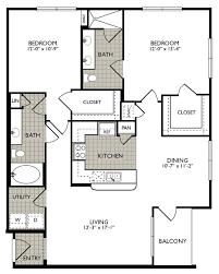 Midtown 4 Floor Plans by 2222 Smith Street Apartments In Midtown Houston Tx