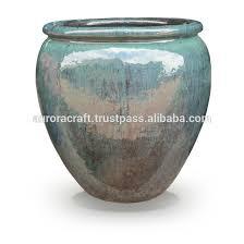 Decorative Indoor Planters Indoor Pot Ceramic Glazed Pottery Planter Planters Indoor Pot