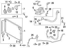 lexus is300 parts diagram parts com lexus is300 condenser compressor lines oem parts