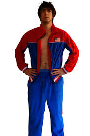 mens costume usa jumpsuit america jumpsuit frat party mixer