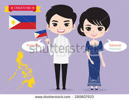 philippines traditional clothing for kids philippines boy traditional costume stock vector 2018