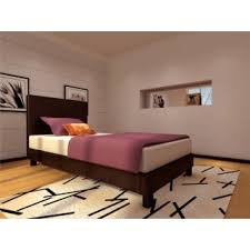 brown leather bed buy quality prado single brown leather bed