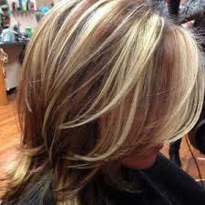 high and low highlights for hair pictures highlights lowlights hakola hair salon