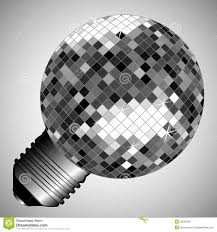 Disco Light Bulb Disco Light Bulb Stock Photos Image 28292393