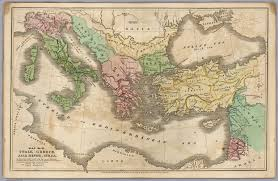 Map Of Ancient Greece Map No Iii Italy Greece Asia Minor Syria David Rumsey