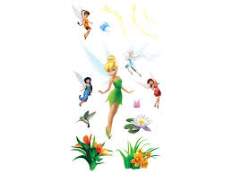 uncle milton u0027s toys room tinker bell wild walls