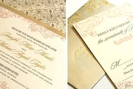 gold wedding invitations inspirational blush and gold wedding invitations for gorgeous foil
