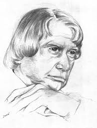 a p j abdul kalam pencil sketch official kalam