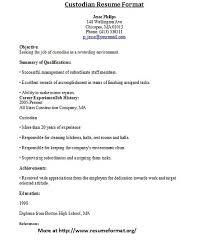 bunch ideas of sample janitor resume for your download gallery