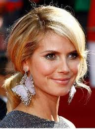 what face shape heidi klum heidi klum hairstyles celebrity hairstyles
