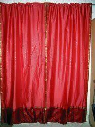 Bohemian Drapes Bohemian Gypsy Sari Curtains Only Rooms Pinterest Saris