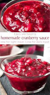 healthy cranberry sauce 2 ways recipe