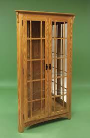 Curio Cabinet Curio Cabinet Pid 3080 Amish Mission Corner Curio Cabinet From