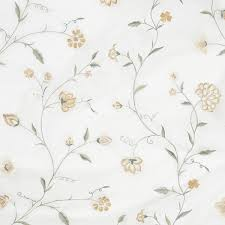 what is floral pattern in french climbing floral organza french grey