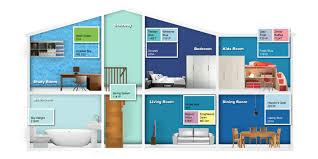 interior designer themed colours pacific breeze