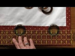 Sewing Curtains With Lining How To Sew Lined Curtains National Sewing Circle Youtube