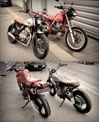 honda dominator befor after by galz motorcycle custom